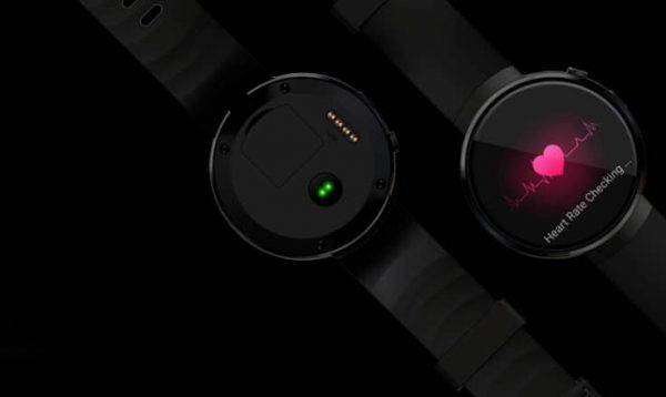 SMART Watch back and HR